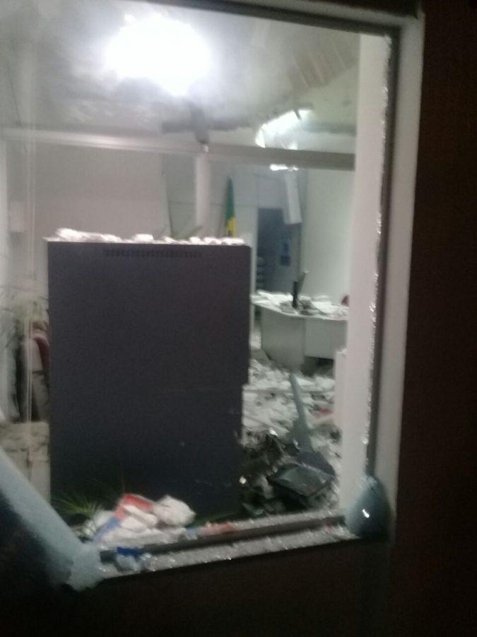 Explosão Caixa Eletrônico do Banco Bradesco