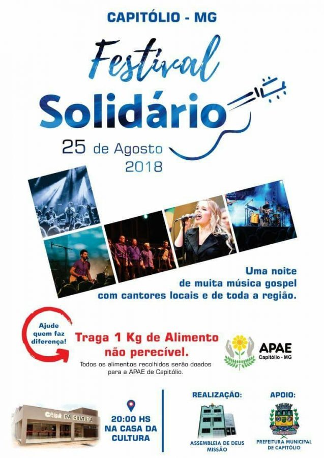 1.º Festival Solidário em Capitólio