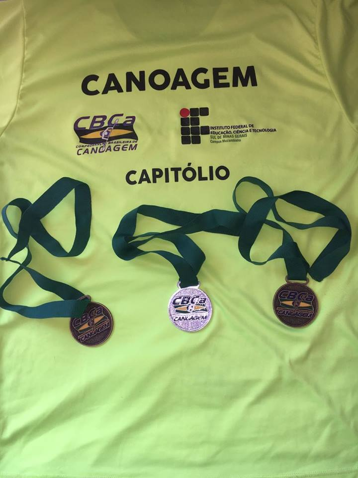 Medalhas para Capitólio em Campeonato de Canoagem realizado em Curitiba