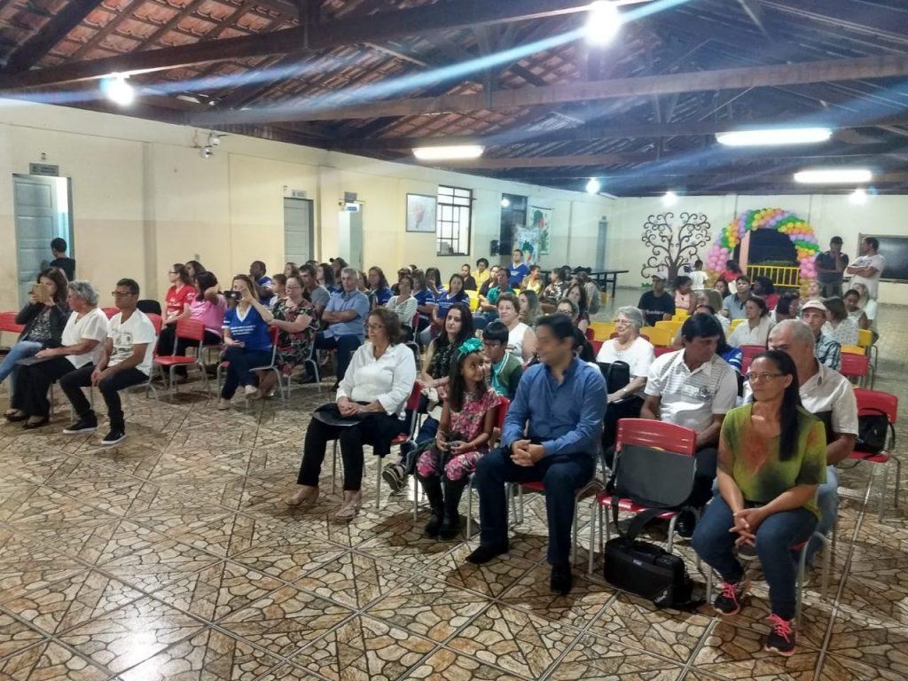 Inauguração da reforma da Escola Municipal Elias Teodoro