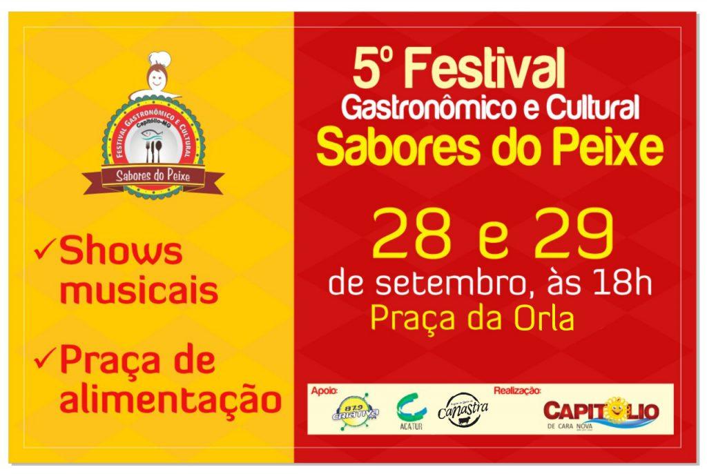 Capitólio realiza 5ª edição de seu festival gastronômico