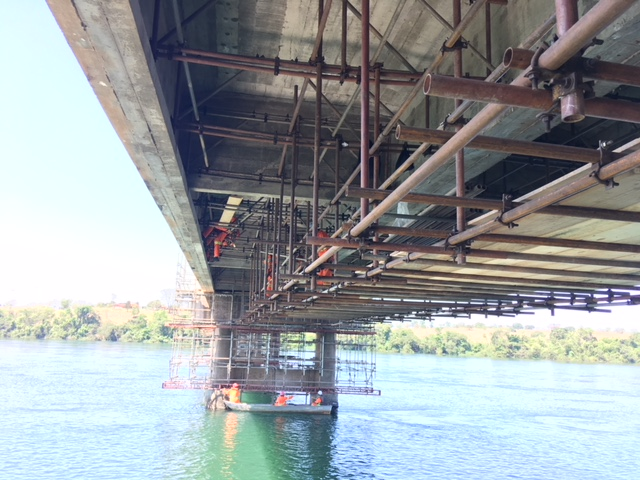 Obra na ponte do Rio Grande terá bloqueio de tráfego na MG 050