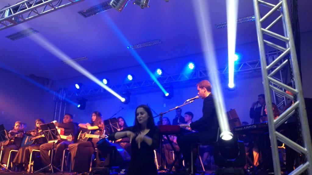 """A Casa da Cultura Tio Inácio recebeu no último Sábado, dia 10/11, o concerto """"O Eterno""""."""