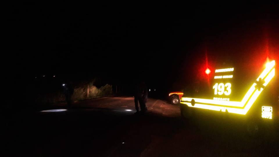 Acidente deixa jovem ferido na MG 341 em Piumhi