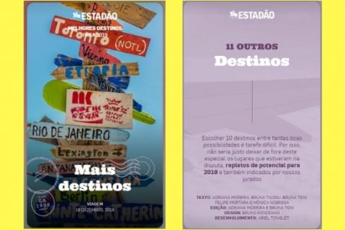 Capitólio está entre os destinos turísticos mais votados pelo jornal Estadão