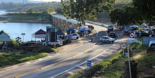 Dr. José Eduardo ainda sobre a fiscalização das barracas na Ponte do Rio Turvo e Cânions